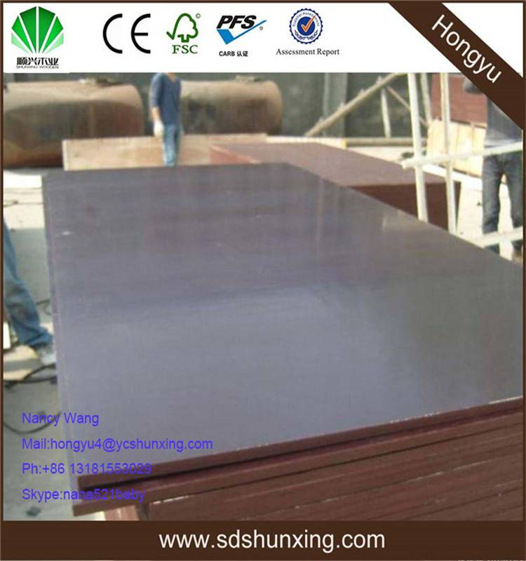 good quality shuttering plywood melamine coated shuttering plywood