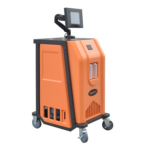 Hot sale factory price car ac service station recharge system with special R1234yf