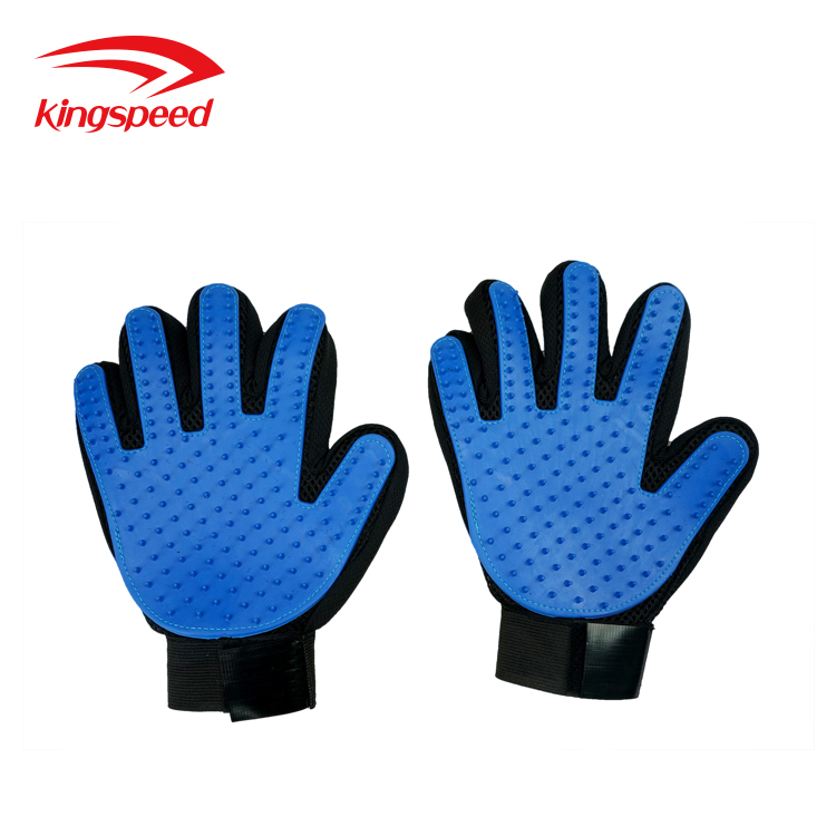 Pet Cleaning Grooming Products Heavy-duty Silicone Gloves Hairs Removal Brushes Combs for Dogs