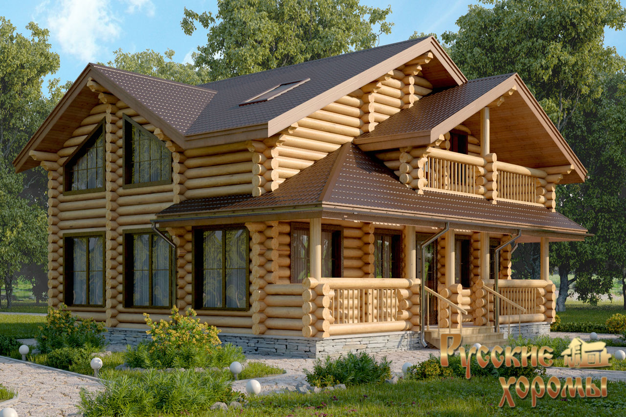 import material solid wood prefab chalet