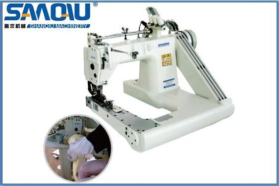 three needle high speed chianstitch industrial sewing machine