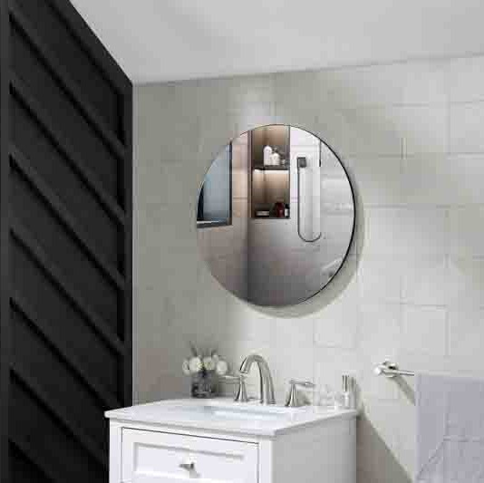 Hot Selling Wall Mounted metal frame mirror