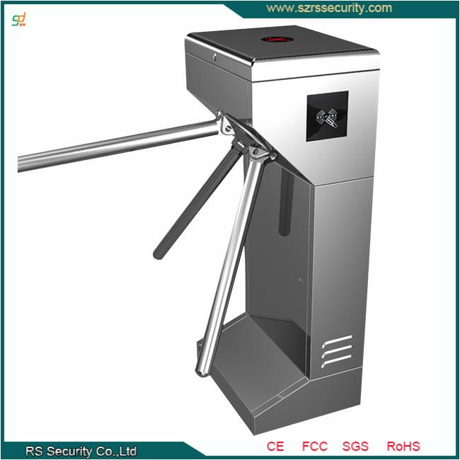 Vertical Automatic Tripod Turnstile with CE Certification