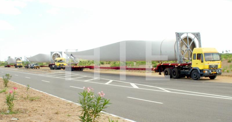 wind blade trailer