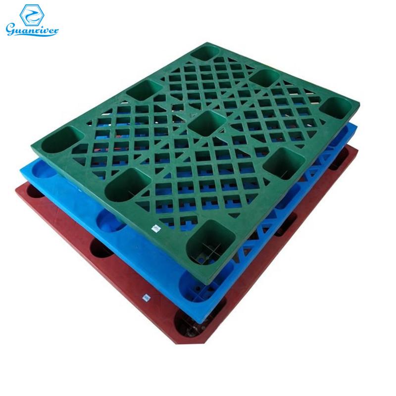 Durable nine feet plastic pallet for logistics transport