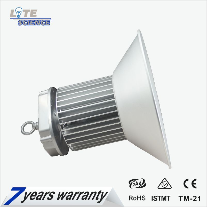 Indoor Led Industrial High Bay 100w 150w 200w 120lm/w 5~7 Years Warranty