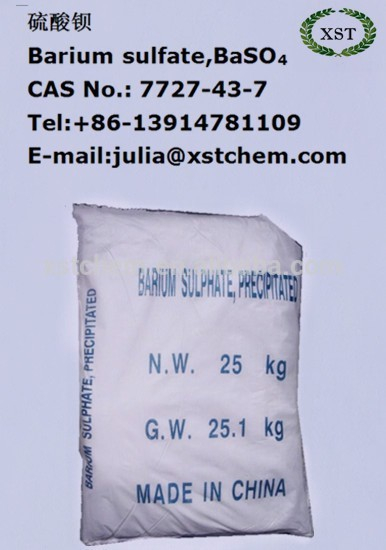 China Manufcture Precipitated Barium Sulphate Price