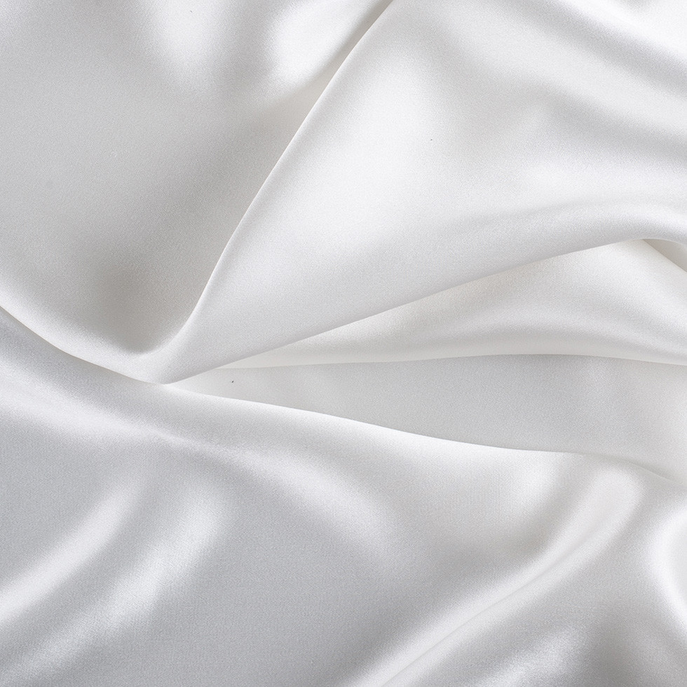 Whisper White Silk Charmeuse