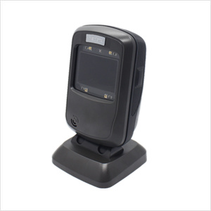 Newland Desktop Barcode Scanner FR40 reading 1D/2D barcodes on paper/LCD screen