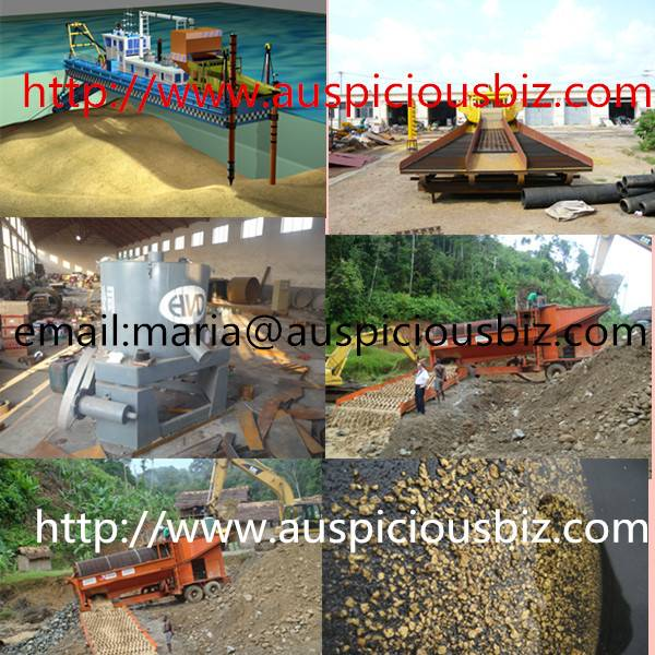 gold dredger/ gold dredge/gold panning