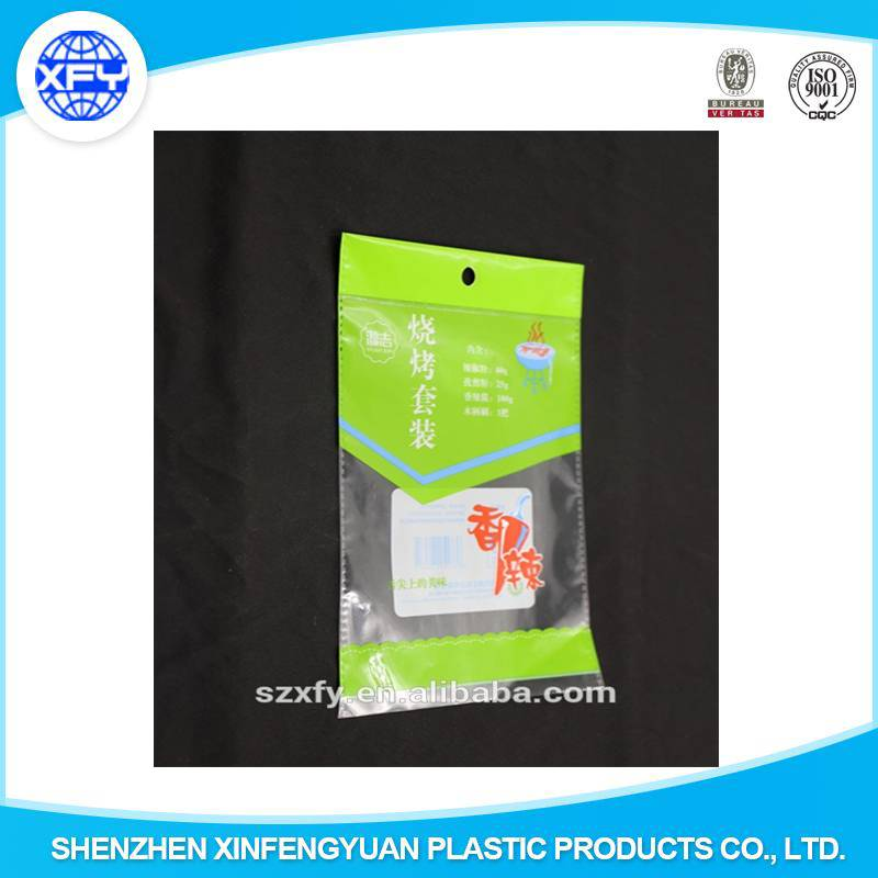 2015 Alibaba Customized Plastic Bag Spice for Packing Spice