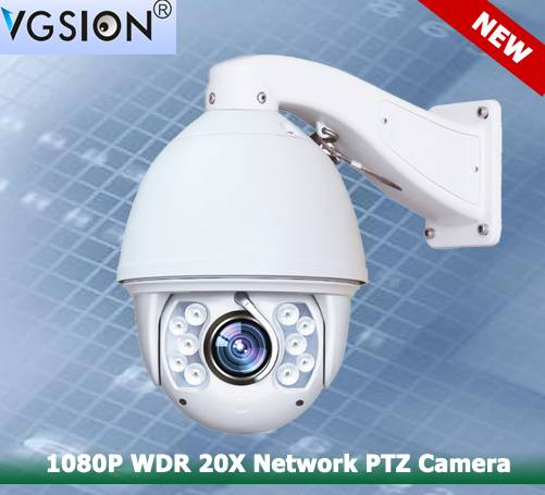 1080P WDR 20X Network PTZ Camera