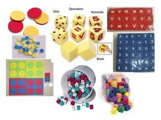 EVA foam dice