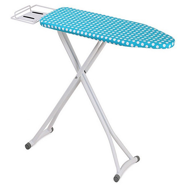 Foldable adjustable wooden ironing board