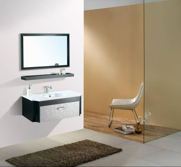 stainless steel bath cabinet