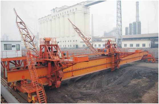 Bridge Bucket Wheel Homogenizing Reclaimer