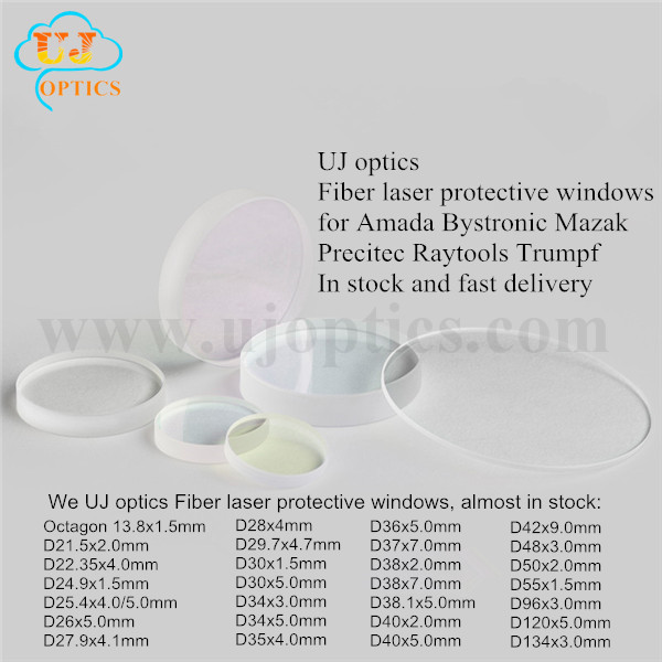 Laser protective window lens for laser cutting machine