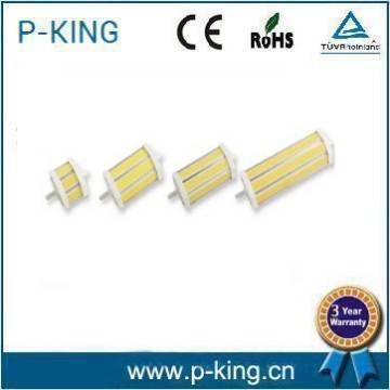 CE ROHS r7s led 1100lm COB 118mm r7s led 14w r7s led 30000h 100lm/w
