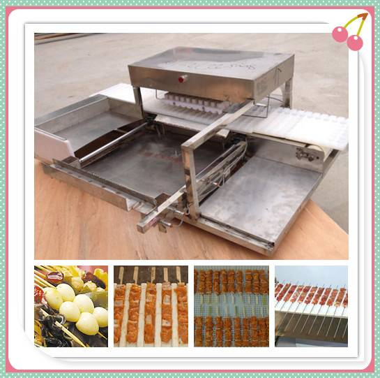 Automatic Meat/Vegetable Skewer Kebab Machine