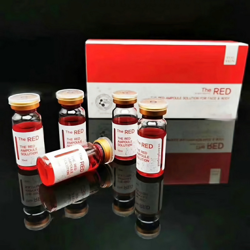 Lipolysis Solution Injectable Fat Dissolve 10ml the RED Ampoule Weight Loss Liquid Injection