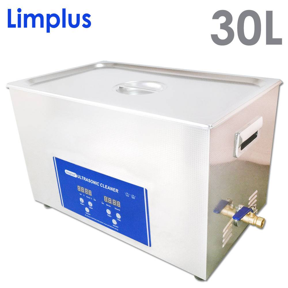 Limplus large single tank ultrasonic cleaner(digital ,with drainage)