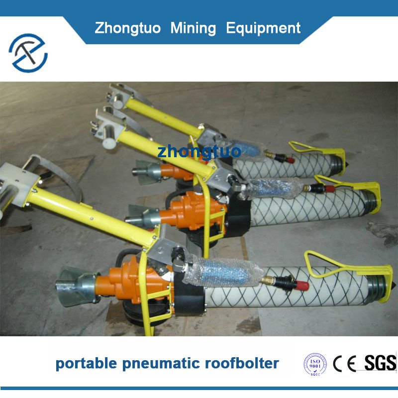 China portable pneumatic roofbolter