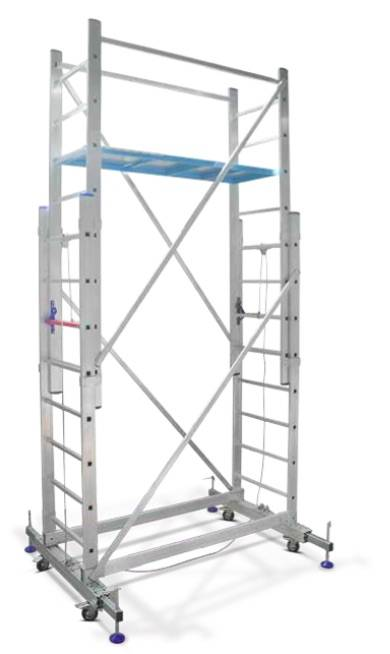 Casaline Aluminum Scaffolding With Rope System