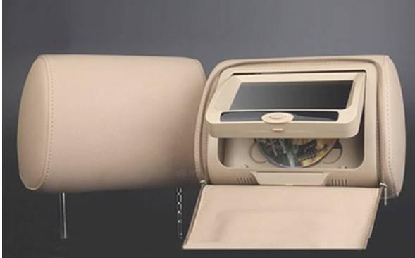 car headrest DVD player JR-928
