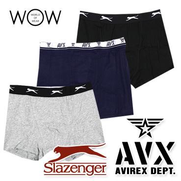 AVIREX & SLAZENGER underwear for men STOCK