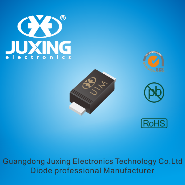 DHE1M is the surface mount ultra fast rectifiers diode packed by SOD-123FL case