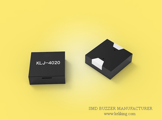 Passive SMD Magnetic Audible Buzzer, 3V/110mA/73dB, KLJ-4020