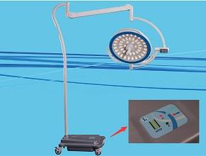 LED500Y moblile led surgical lamp with battery