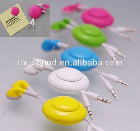 2015 mobile phone accessories  stereo earphone with microphone