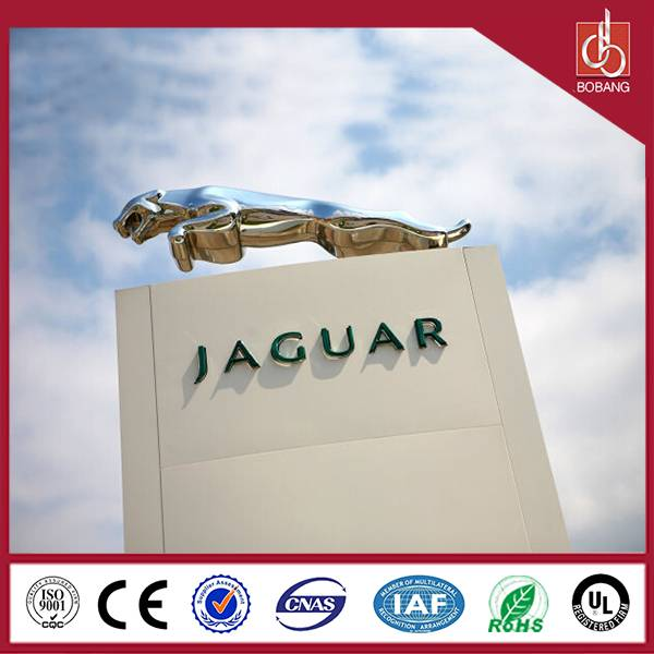 Standing outdoor advertising strong thin high quality vacuum moulding square car bord