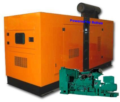 Cummins Diesel Generator Set 80kw Generating Machine Power Plant Fuel Generator Set