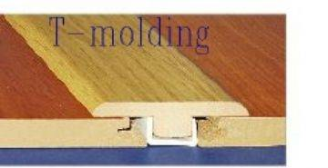 T-moulding for laminate floor/flooring/wood moulding