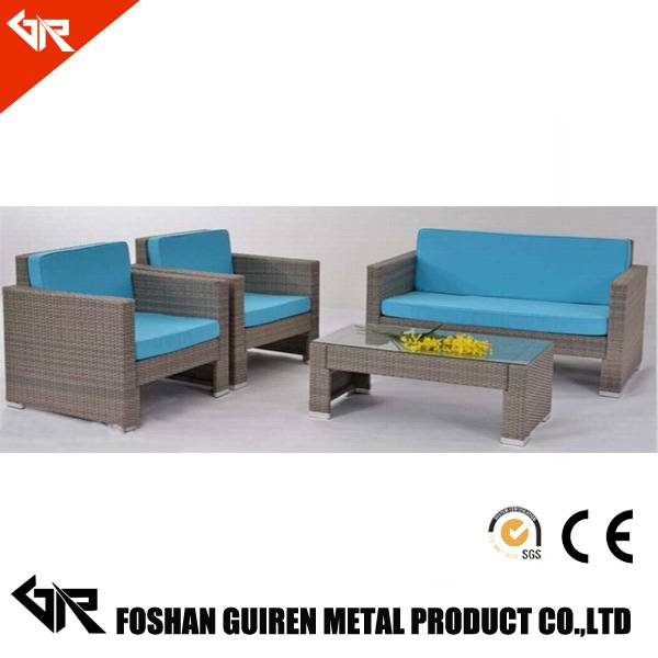 Perfect combination rattan furniture sofa cushion covers rattan sofa set