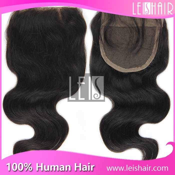 best quality body wave lace closure 4*4