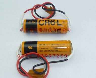 PLC battery Fuji CR6.L 3V 2300mah AA size PLC lithium battery/primary battery