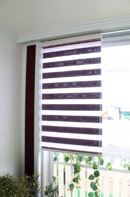 Jacqquard blind ( N-ORION TWOWINS )