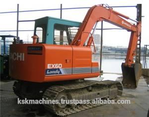 Hitachi used excavator EX60