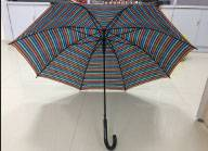 23'' Auto Golf Stripe Straight Umbrella