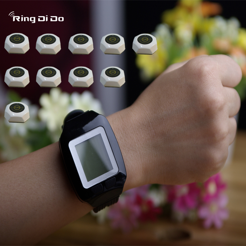 wireless paging system,wireless calling pager,wrist watch be able vibrate and didi voice