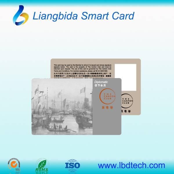CR80 plastic printed pvc card