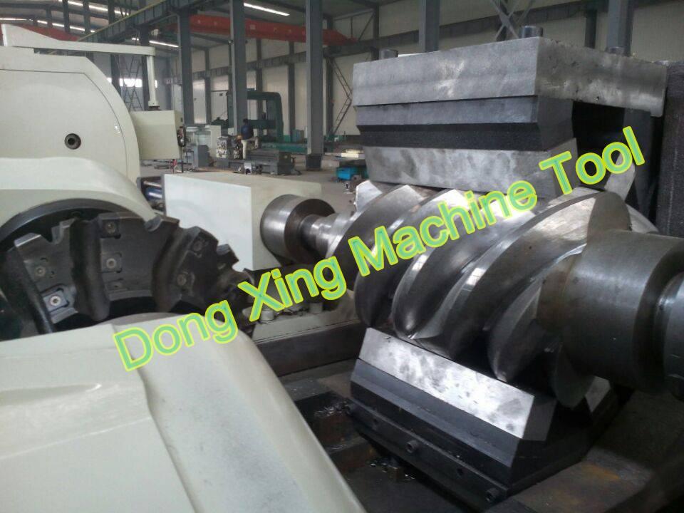 High Efficiency CNC Spiral Rotor Milling Machine