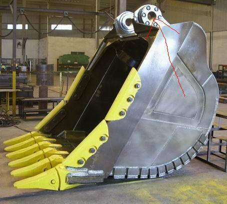excavator rock bucket&excavator rock bucket