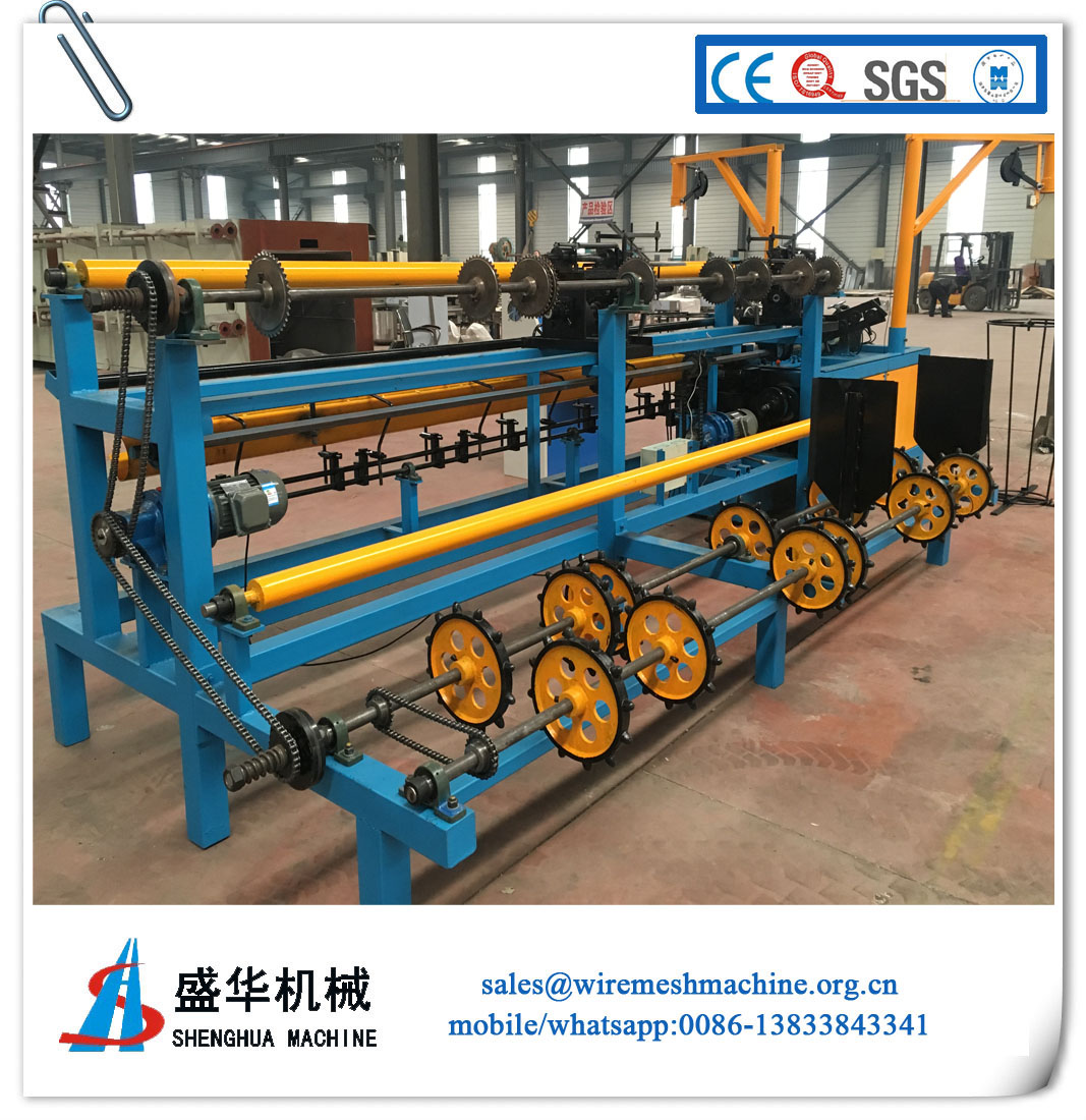 Full automatic Chain Link Fence Machine(wire diameter:1.0-4.5mm)