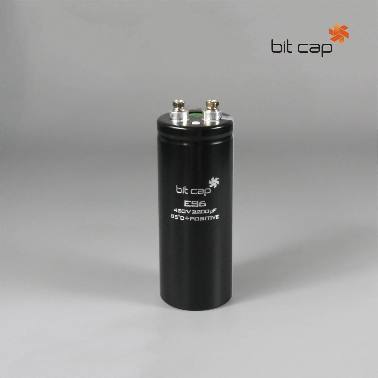 bit cap ES6  450V 2200uF  aluminum electronic capacitors