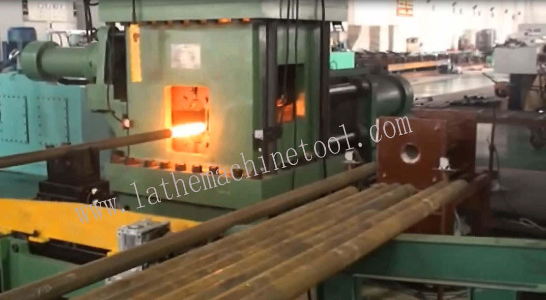 Automatic control upsetting pipe end machine for Upset Forging of drilling pipe