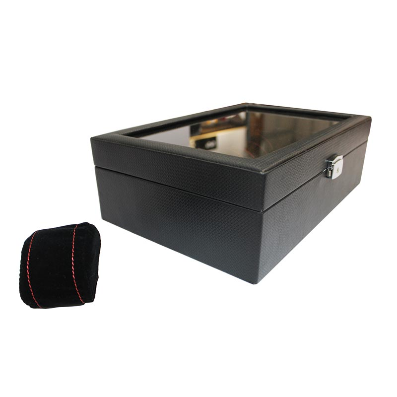 Luxury Piano Watch Case Box Display For 10 Watches Storage Watch Boxes For Sale